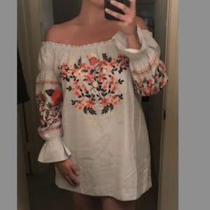 Free People Fleur Du Jour Shift Dress M